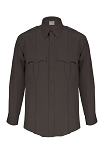 Elbeco TexTrop2 Mens Long Sleeve Shirt- Black (MCAC ONLY)
