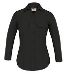 Elbeco TexTrop2 Womens Long Sleeve Shirt - Black (MCAC ONLY)